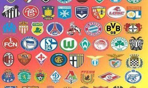 Гербы немецких футбольных клубов