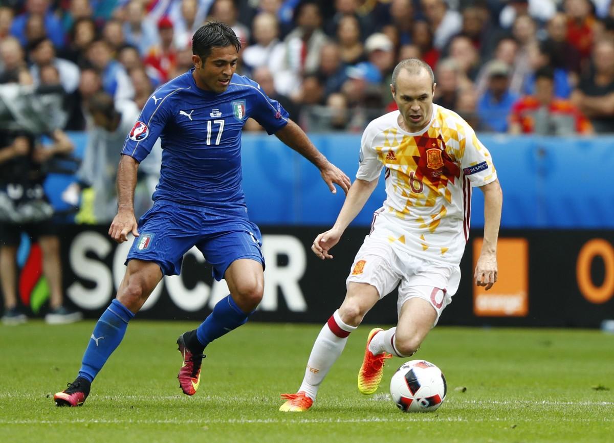 футбол прогнозы испании против италии